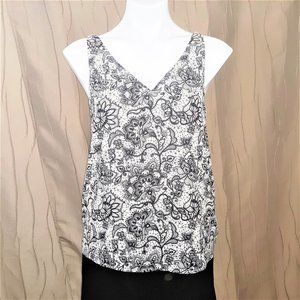 EXPRESS NWT Petite PS Tank Blouse Lined Top